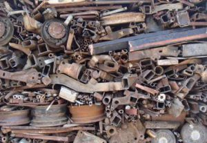 scrap steel price per ton