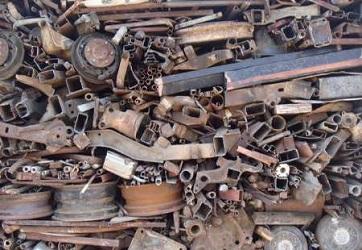 scrap steel price per ton