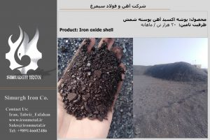 Iron oxide shell for sale