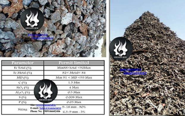 buy sponge iron vs scrap steel