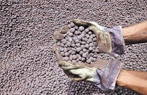 export of iron ore pellets from iran