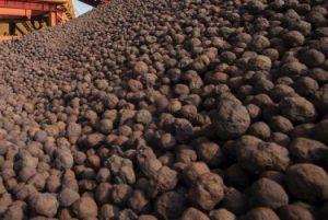 iron ore pellet price per ton today