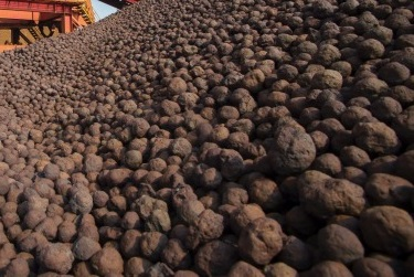 iron ore pellet price per ton today