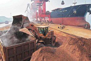 iron ore price today australia