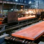 price of steel slab per ton in iran