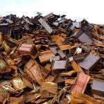 price of steel scrap per ton