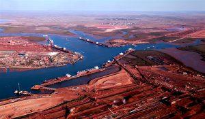 rio tinto iron ore exports